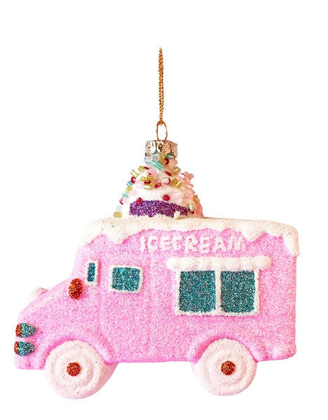 Glitter Ice Cream Truck Decoration