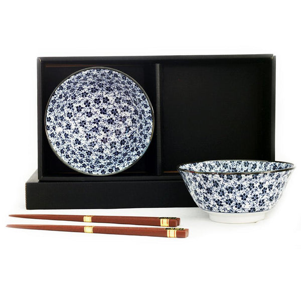 2 Bowl Chopsticks  Set - Koume