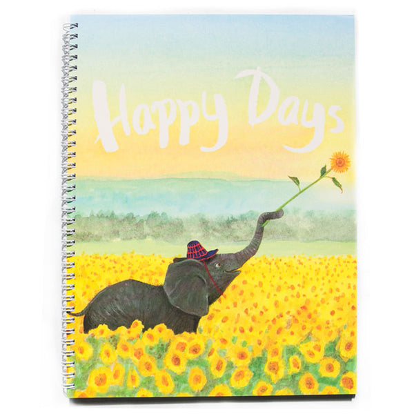 A4 Notebook - Happy Days