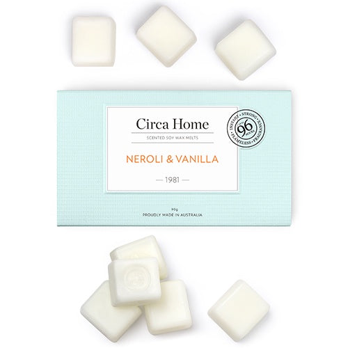 Circa Home Soy Wax Melts - Neroli & Vanilla