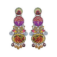 Ayala Bar Earrings - Yucatan Sacret