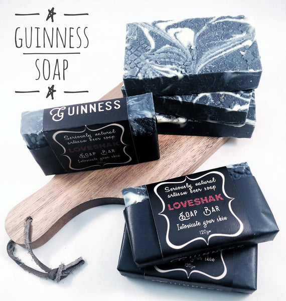 Loveshak Soap Bar - Guinness