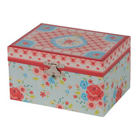 Musical Jewellery box - English Rose