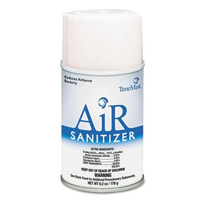 Air Sanitizer Metered Refill, Aerosol, Lime, 6.2 oz