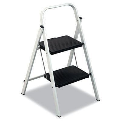 QS2 Quick Step Steel 2-Step Folding Stool 11 3/4w x 18  sc 1 st  Pacific Breeze & Louisville Quick Step Steel Step Stool - Seattle Janitorial ... islam-shia.org