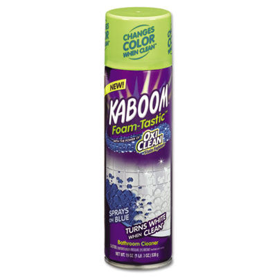 Foamtastic Bathroom Cleaner, Fresh Scent, 19 oz Spray Can
