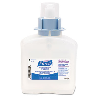 Advanced FMX-12 Foam Instant Hand Sanitizer Refill, w/Moisturizers, 1200-ml