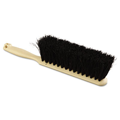 "Tampico Bristle Counter Brush, 8"", Tan Handle"