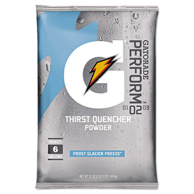 Original Powdered Drink Mix, Glacier Freeze, 51 Oz Packet