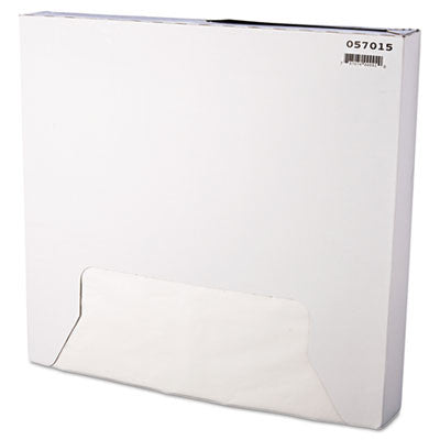 Grease-Resistant Paper Wrap/Liner, 15 x 16, White, 1000/Pack