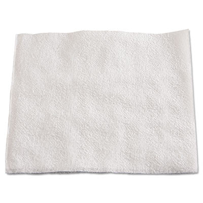 1/4-Fold Lunch Napkins, 1-Ply, 12 x 12, White