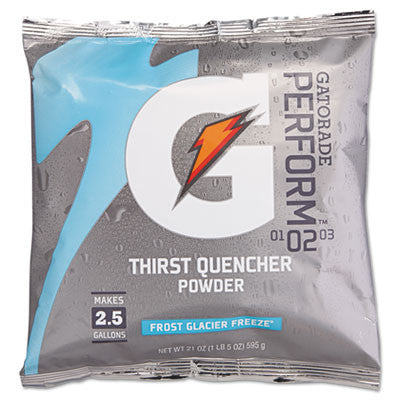 Original Powdered Drink Mix, Glacier Freeze, 21Oz Packet