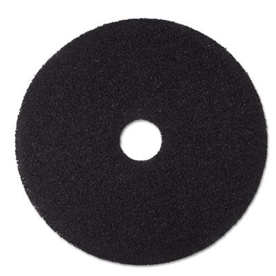 "Low-Speed Stripper Floor Pad 7200, 16"", Black"