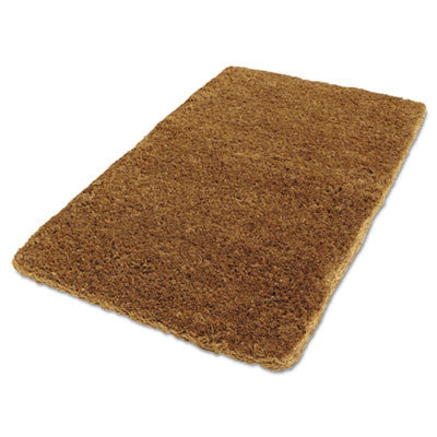 Coco Mat, 36 in x 22 in, Natural Tan, Woven Fiber