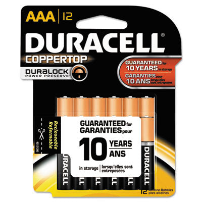 Coppertop Alkaline Batteries, AAA