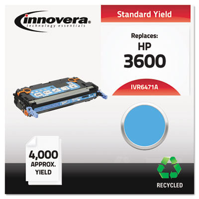 6471A Compatible, Remanufactured, Q6471A (502A) Laser Toner, 4000 Yield, Cyan