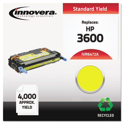 6472A Compatible, Remanufactured, Q6472A (502A) Laser Toner, 4000 Yield, Yellow