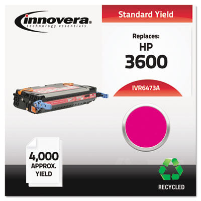 6473A Compatible, Remanufactured, Q6473A (502A) Laser Toner, 4000 Yield, Magenta