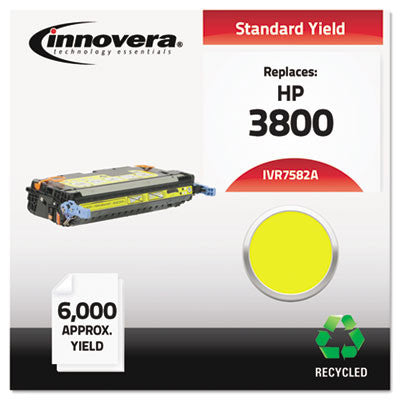 7582A Compatible, Remanufactured, Q7582A (503A) Laser Toner, 6000 Yield, Yellow