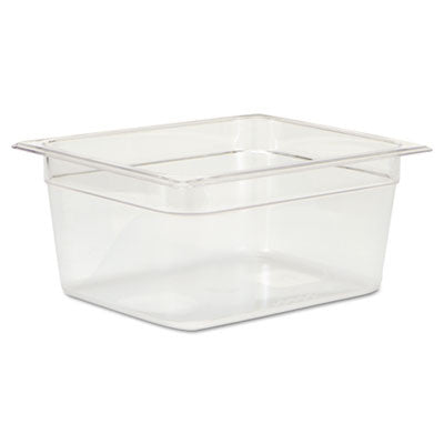 Cold Food Pans, 9 1/3qt, 10 3/8w x 12 4/5d x 6h, Clear