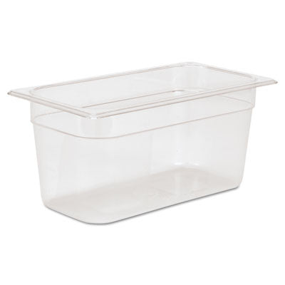 Cold Food Pans, 5 3/8qt, 6 7/8w x 12 4/5d x 6h, Clear