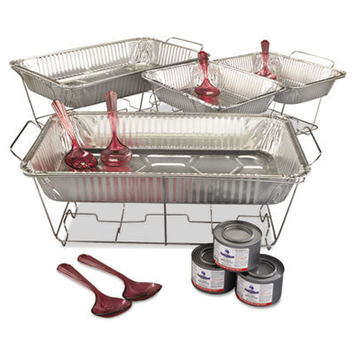 Kingsmen 24-Piece Chafing Rack Kit