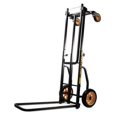 Multi-Cart 8-in-1 Cart, 500lb Capacity, 18 x 33 1/2 x 42 1/2, Black