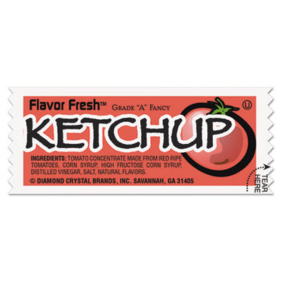 FLAVOR FRESH Ketchup Packets, .317oz Packet