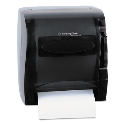 In-Sight Lev-R-Matic Roll Towel Dispenser, 13 3/10w x 9 4/5d x 13 1/2h, Smoke