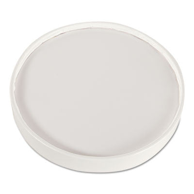 Food Container Lids, Paper, White