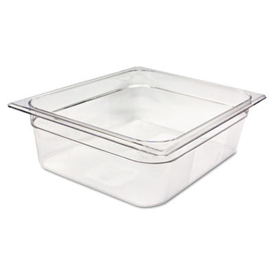 Cold Food Pans, 7 7/8qt, 10 3/8w x 12 4/5d x 4h, Clear