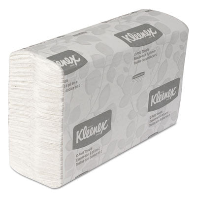 C-Fold Paper Towels, 10 1/8 x 13 3/20, White, 150/Pack