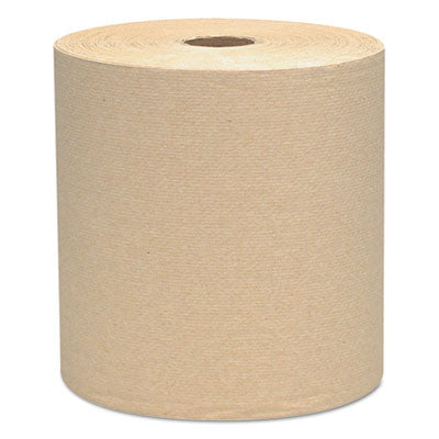 Hard Roll Towels, 8 x 800ft, Natural