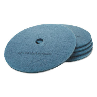 Ultra High-Speed Floor Burnishing Pads 3100, 27-Inch, Aqua