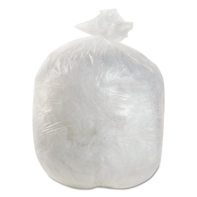 High-Density Can Liners, 20 x 22, 7 Gallon, 6 Mic Equivalent, Natural
