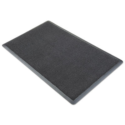 Nomad 8500 Aqua Plus Wiper Matting, Dual Fiber, 48 x 72, Gray