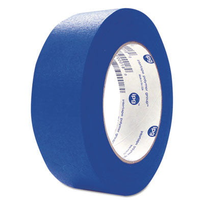 "UV Resistant Paper Masking Tape, 1.88"" x 60 Yards, Blue"