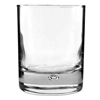 Disco Old Fashioned Glass, 8 1/2 oz, Clear