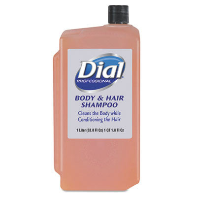Body & Hair Care, Peach Scent, 1 Liter Cartridge