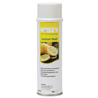 Handheld Air Sanitizer/Deodorizer, Lemon Peel, 10oz, Aerosol