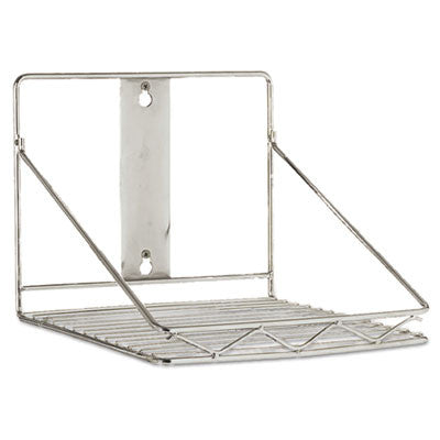 ProSave Shelf Ingredient Bin Wall-Mount Rack, 10 5/8 x 10 1/2 x 7 1/4, Chrome