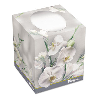 Boutique Two-Ply White Facial Tissue, 95 Tissues/Box