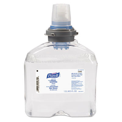 Advanced TFX Foam Instant Hand Sanitizer Refill, 1200-ml, White