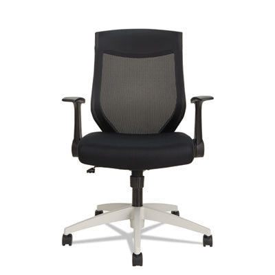 EB-K Series Synchro Mid-Back Mesh Chair, Black/Cool Gray Frame