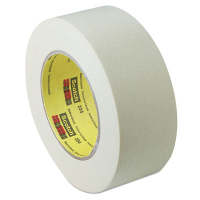 "General Purpose Masking Tape 234, 24mm x 55m, 3"" Core, Tan"
