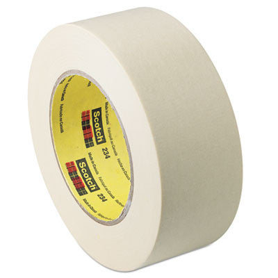 "General Purpose Masking Tape 234, 12mm x 55m, 3"" Core, Tan"