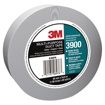Poly-Coated Cloth Duct Tape, General Maintenance, 48mm x 54.8m, Silver