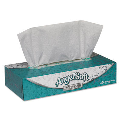 Premium Facial Tissues, Flat Box, 100 Sheets/Box