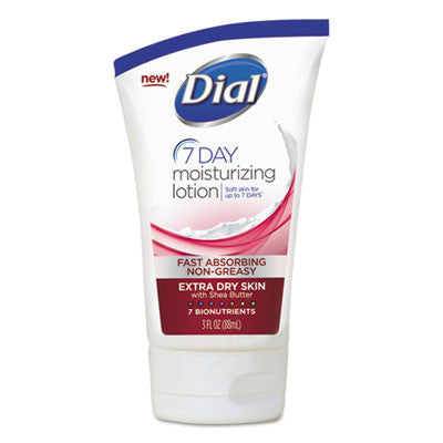 Extra Dry 7-Day Moisturizing Lotion with Shea Butter, 3 oz, Tube