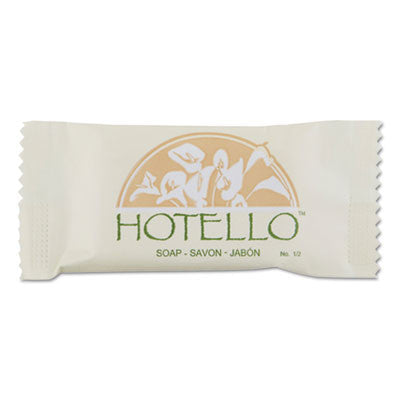 Bar Soap, 1/2 oz, Individually Wrapped